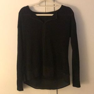NWOT Sanctuary Black Long Sleeve